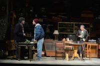 Ορφέας Αυγουστίδης - Αμερικάνικος βούβαλος, 2017 (θέατρο)
