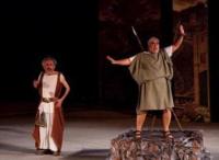 Δημήτρης Πιατάς - Η ασπίς και το συμπόσιο, 2016 (θέατρο)