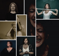 Τζίνα Ντέγκα - Χρωματιστές γυναίκες - Dialogue in the dark, 2019 (θέατρο)