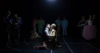 Έμιλυ Κολιανδρή,                                                                     Γιώργος Χρυσοστόμου,                                                                                         Δωδέκατη Νύχτα (2016)                                                             Εθνικό Θέατρο-Κτίριο Τσίλλερ Κεντρική σκηνή