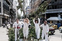 Δημήτρης Πασσάς - Επαναστατικές μέθοδοι για τον καθαρισμό της πισίνας σας, 2018 (θέατρο)