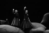 Εύη Σαουλίδου,                                                             Χάρης Φραγκούλης,                                                                             Γκόλφω (2013)                                                     Εθνικό Θέατρο-Κτίριο Τσίλλερ Κεντρική σκηνή