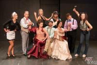 Λίνα Σταυροπούλου - Η παράσταση των ηλιθίων, 2018 (θέατρο)