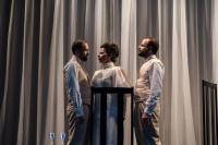 Νεκταρία Γιαννουδάκη - Στέλλα Βιολάντη (Έρως Εσταυρωμένος), 2017 (θέατρο)