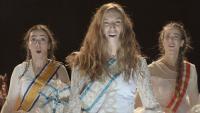 Αντιγόνη Ψυχράμη - Η παπλωματού, 2015 (θέατρο)