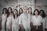 Κατερίνα Δημάτη - Πλάθοντας τον Προμηθέα, 2020 (θέατρο)                                                                     Photo Credits:                                                                 Σταύρος Χαμπάκης