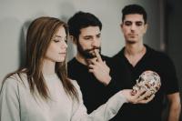 Δημήτρης Γκοτσόπουλος,                                                                     Βαγγέλης Σαλευρής,                                                                     Φιόνα Γεωργιάδη,                                                                                         Η ζωή μου στην τέχνη (2019)                                                             104 Κεντρική σκηνή