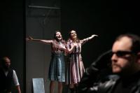 """Κίττυ Παϊταζόγλου,                                                             Χριστίνα Μαξούρη,                                                                             Ζ (2012)                                                     Εθνικό Θέατρο-Κτίριο Τσίλλερ Σκηνή """"Νικος Κούρκουλος"""""""