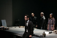 """Γιάννος Περλέγκας,                                                                             Ζ (2012)                                                     Εθνικό Θέατρο-Κτίριο Τσίλλερ Σκηνή """"Νικος Κούρκουλος"""""""